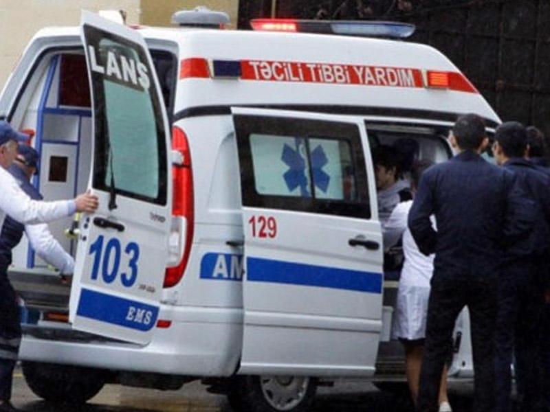 Bakıda ağır qəza: qadın öldü, 2 yaralı var