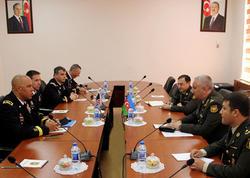 ABŞ generalı Azərbaycanda səfərdədir - FOTO