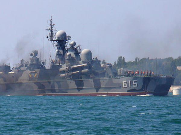 Rusiyanın raket gəmiləri Aralıq dənizinə daxil olub