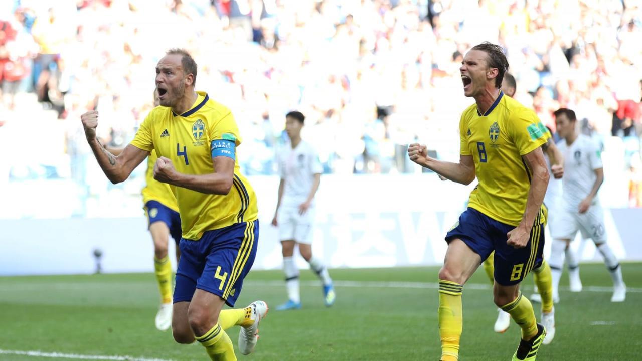 DÇ-2018: İsveç - Cənubi Koreya 1:0 -