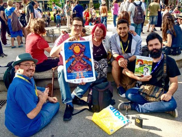 Azərbaycan ilk dəfə Fransada Beynəlxalq Animasiya Filmləri Festivalında təmsil olunub - FOTO