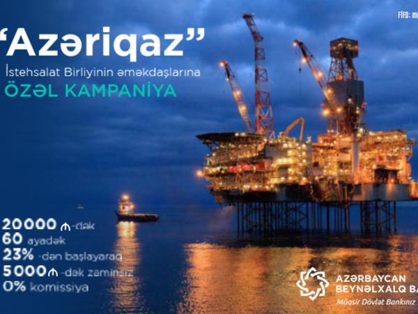 Qaz təsərrüfatı işçilərinə Azərbaycan Beynəlxalq Bankından özəl kredit!