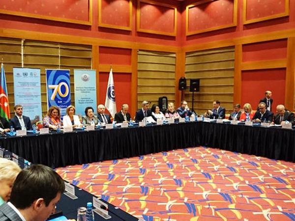"""Elmira Süleymanova: """"Azərbaycan yeganə ölkədir ki, burada qısa müddətdə 11 amnistiya aktı, 64 əfv sərəncamı imzalanıb"""""""