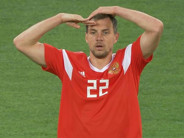Rus futbolçu dünya çempionatında rekord müəyyənləşdirdi