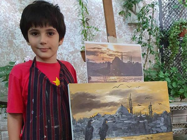 Azərbaycanlı uşaq istedadı ilə dünyanı heyran edir - FOTO