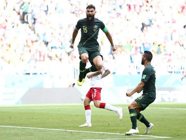 DÇ-2018: Danimarka - Avstraliya oyununda 2 qol - YENİLƏNİR - VİDEO - FOTO