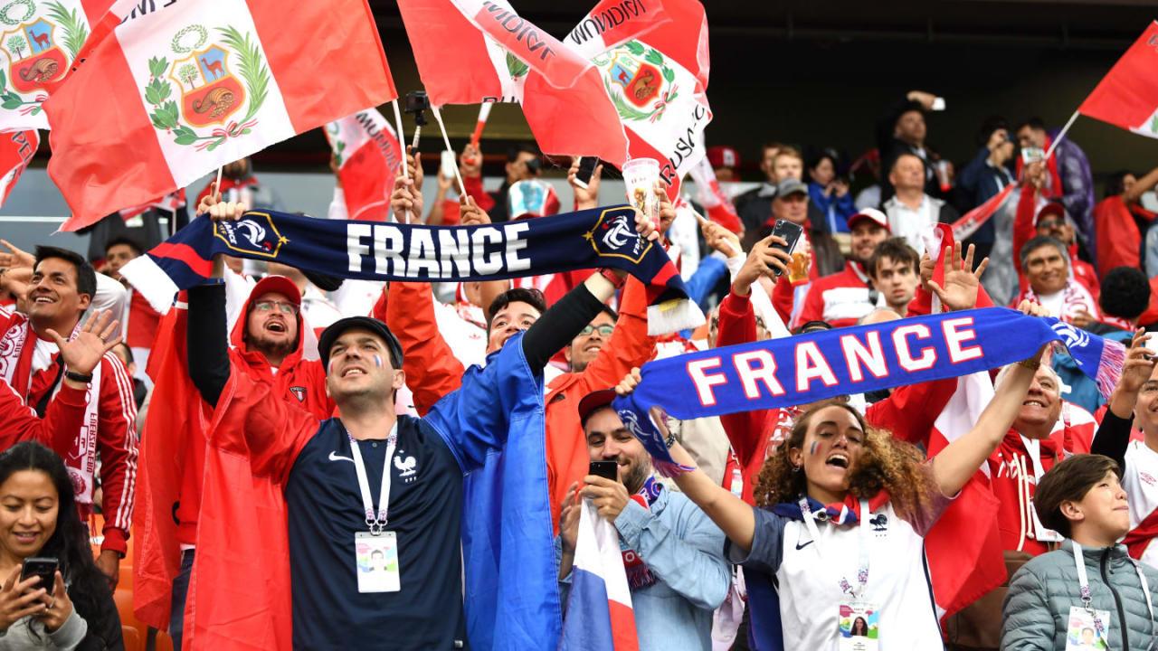 """""""DÇ-2018"""": Fransa Peruya qarşı - FOTOLAR"""