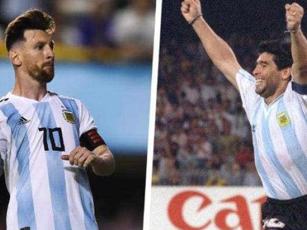 """""""Messinin Maradona ilə eyni səviyyədə olduğunu demək axmaqlıqdı"""""""