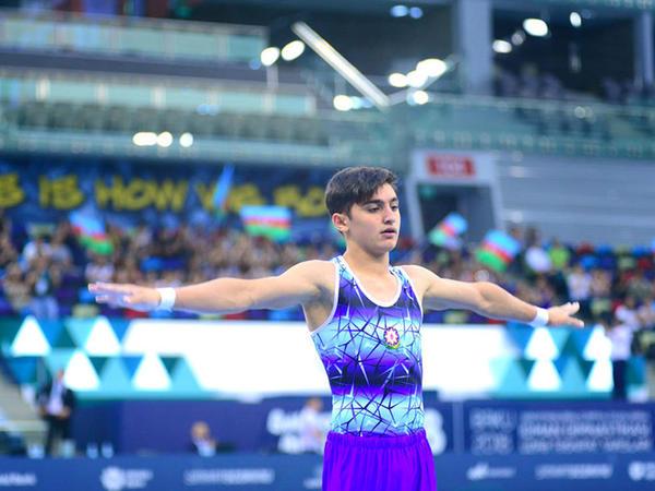 Azərbaycan gimnastı Buenos-Ayresdə Yeniyetmələrin Olimpiya Oyunlarında çıxış edəcək