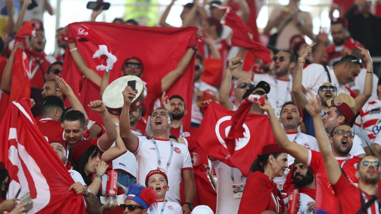 DÇ-2018: Belçika - Tunis oyununda 17 dəqiqəyə 3 qol - FOTOLAR