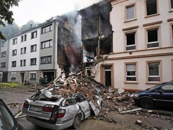 Almaniyada partlayış: 25 nəfər yaralandı