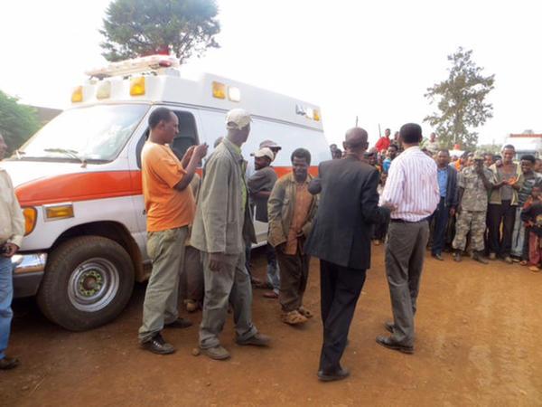 Efiopiyada mitinq zamanı partlayışda yaralananların sayı 156-ya çatıb