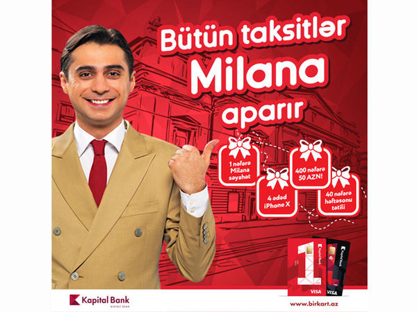 """""""Bütün taksitlər Milana aparır"""" lotereyasının birinci tirajı keçirildi"""