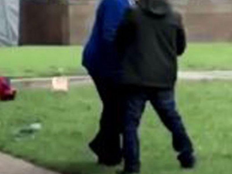 Şəhərin mərkəzi parklarından birində cütlük cinsi əlaqəyə girdi - (18+) FOTOlar