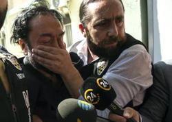 Oktarın evindən çıxanlar polisi də TƏƏCCÜBLƏNDİRDİ - VİDEO - FOTO