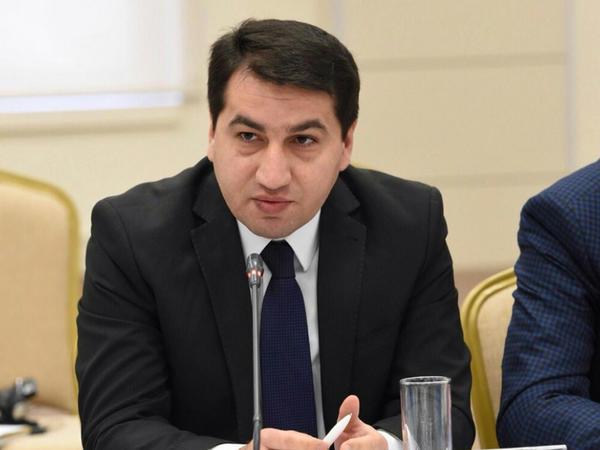 """Hikmət Hacıyev: """"Ermənistanın Baş naziri yenidən yalan danışır"""""""