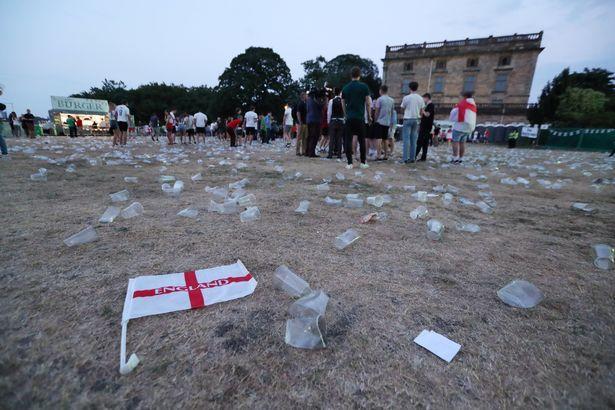 Oyundan sonra London parkları