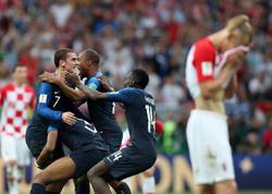 DÇ-2018: finalda ALTI QOL VURULDU, FRANSA ÇEMPİON! - VİDEO - FOTO