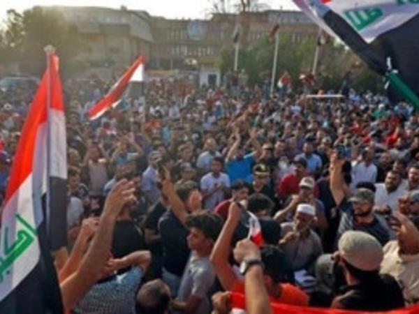 İraqın cənubunda 7 gündür etiraz aksiyaları davam edir