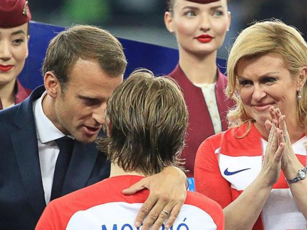 Dünya kuboku Fransa milli komandasına təqdim edilib - FOTO