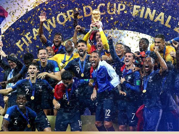 DÇ-2018: Fransa Argentina və Uruqvaya çatıb 5-ci oldu