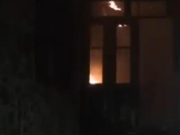 Göyçayda baş verən güclü yanğın söndürülüb - YENİLƏNİB - VİDEO - FOTO