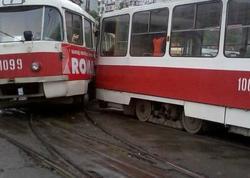 """Rusiyada tramvaylar toqquşdu - <span class=""""color_red"""">Yaralılar var</span>"""
