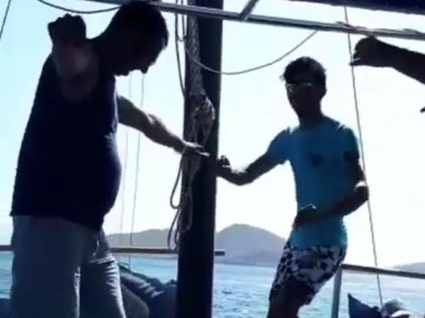 Tanınmış azərbaycanlı aparıcını hələ belə görməmisiniz - VİDEO - FOTO