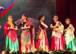 """Bakıda """"Dostluq körpüsü"""" II Beynəlxalq folklor rəqs festivalı başa çatıb - FOTO"""