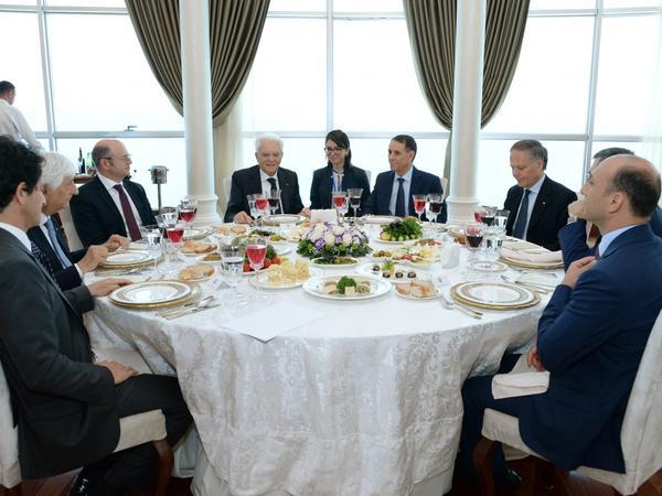 Baş nazir: İtaliya Prezidentinin Azərbaycana səfəri əməkdaşlıq əlaqələrimizin daha da inkişafına töhfə verəcək - FOTO