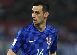 Xorvat futbolçu gümüş medaldan imtina etdi