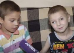Bakıda iki uşaq anası evdən qaçıb - 7 yaşlı Fuad və onun lal-kar qardaşı 6 yaşlı Allahverdi günlərdir göz yaşı tökür - VİDEO