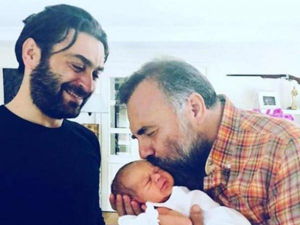 Bu da Ozanın yeni dünyaya gələn oğlu - FOTO