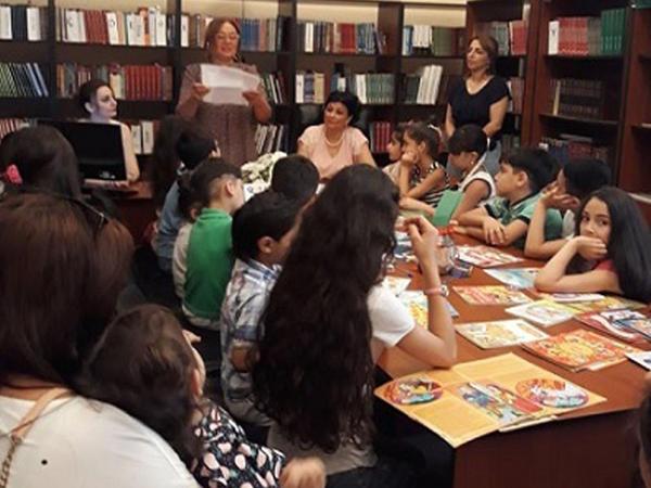 Uşaq yazıçısı, publisist Gülzar İbrahimova ilə görüş keçirilib