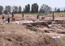 Tovuzda qədim yaşayış məskəni aşkarlanıb - VİDEO