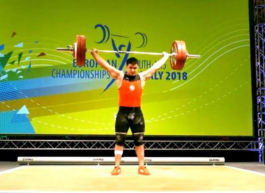 Tarmenxan Babayev Avropa Çempionu oldu