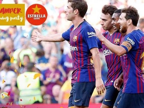 """""""Barselona"""" """"Boka Xuniors""""a qalib gəlib kubok qazandı"""