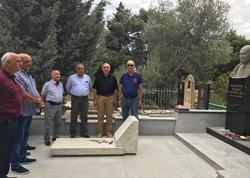 Maqsud Məmmədovun məzarı ziyarət olunub - FOTO