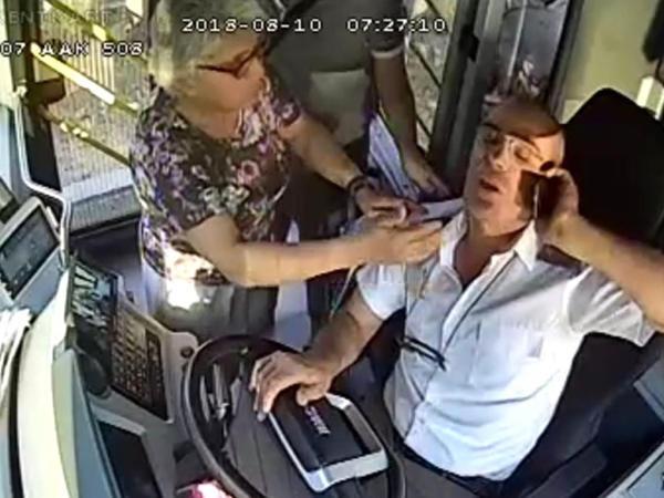 "Sürücünün sükan arxasında infarkt keçirdiyi DƏHŞƏTLİ ANLAR - <span class=""color_red"">VİDEO</span>"