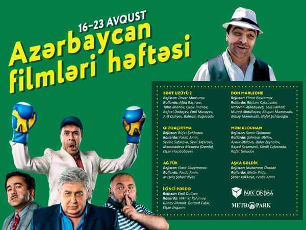 """Bugündən etibarən Azərbaycan Filmləri Festivalı başladı - <span class=""""color_red"""">Park Cinema-da - SİYAHI</span>"""
