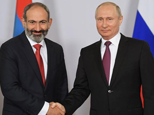 Paşinyan Putinə zəng vurdu
