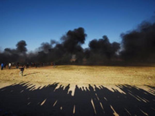 Qəzzada İsrail hərbçiləri ilə toqquşmalarda 2 fələstinli ölüb
