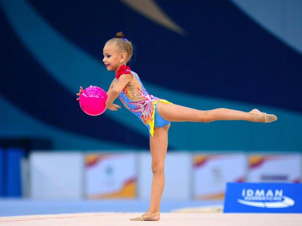 """Milli Gimnastika Arenasında """"GymBala"""" beynəlxalq turnirinin birinci günü yekunlaşıb - FOTO"""
