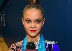 Gənc ukraynalı gimnast: Bakıda gimnastika arenası çox xoşuma gəldi