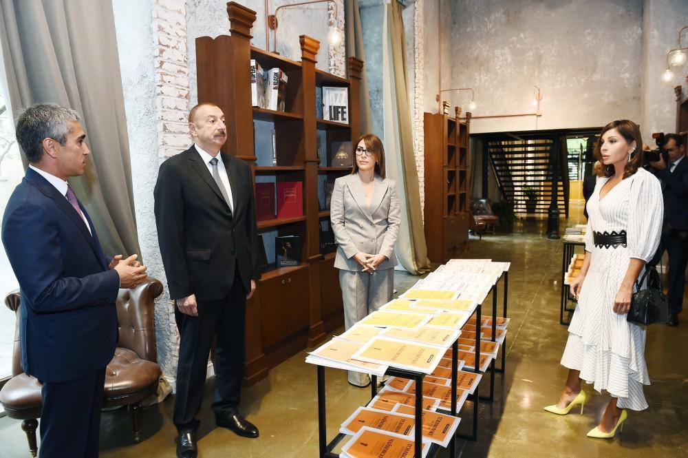 Prezident İlham Əliyev və birinci xanım Mehriban Əliyeva Heydər Əliyev Fond ...