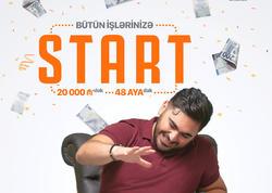 Unibank bütün işlərinizə START vermək üçün kredit kampaniyası keçirir