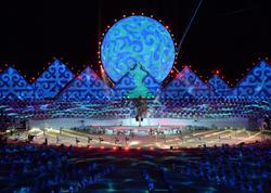 Qırğızıstanda üçüncü Dünya Köçəri Oyunlarının rəsmi açılış mərasimi olub - FOTO