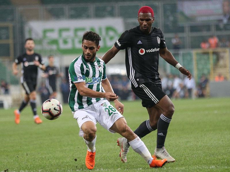 """""""Bursaspor"""" - """"Beşiktaş"""" 1:1"""