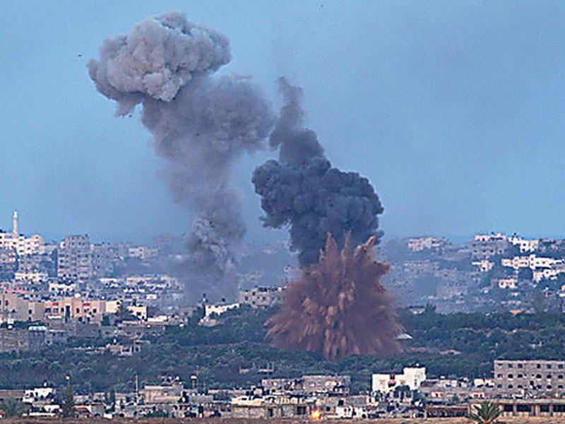 Qəzzada 1 fələstinli öldürüldü, 94 nəfər yaralandı