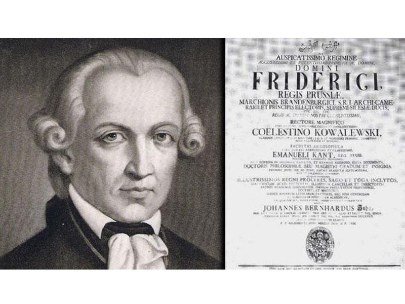 Emanuel Kant dissertasiya işini bismillahla başlayıbmış